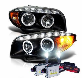 For Bmw 1 Series E81 E82 E87 E88 Halogen Headlight Excellent Ultra