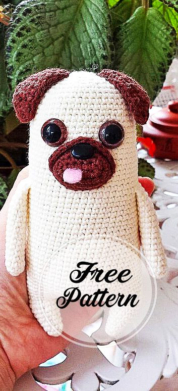 There's nothing cuter than a baby pug... - Amigurumi Today - Free ...   774x353