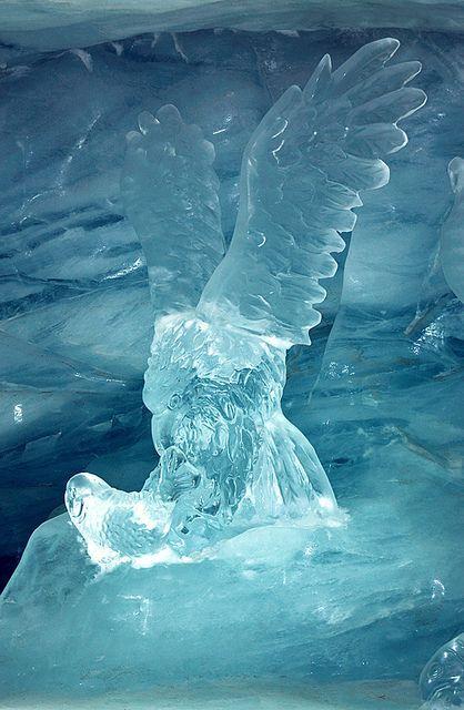 ice museum, Jungfraujoch, Switzerland