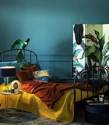 Maisons Du Monde Decouvrez Les Nouveautes De L Automne Hiver Decoration Murale Chambre Chambre Coloree Chambres Luxueuses
