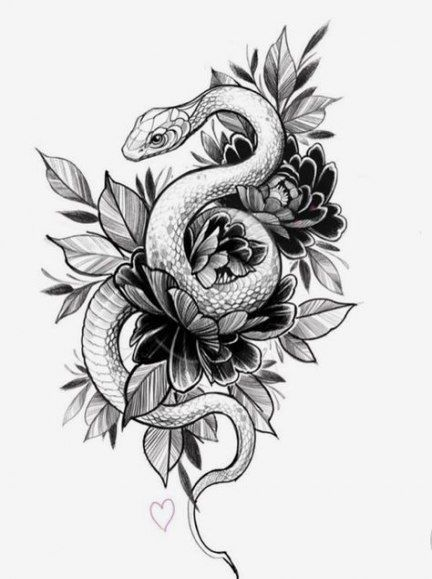 Cool Tattoo Designs Lilostyle In 2020 Snake Tattoo Design Tattoo Design Drawings Leg Tattoos