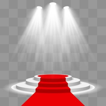 Stage Podium Illuminated Scene With Red Carpet Png And Vector In 2020 Textured Carpet Printed Carpet Geometric Carpet