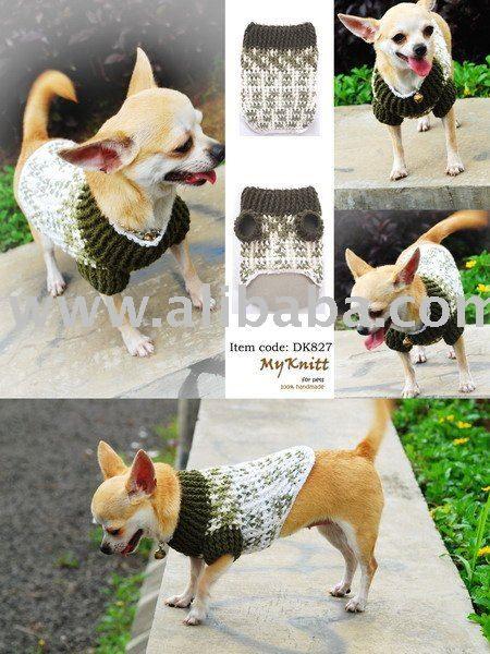 Ropa para perros tejida al crochet | ropa perros | Pinterest ...