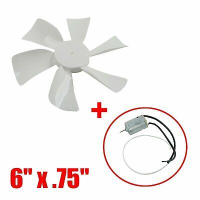 Sponsored Ebay Rv Roof Bathroom 6 Vent Fan 6 Blade 12 Volt Mobile Home Motor Exhaust White Exhausted Ebay Bath Exhaust Fan