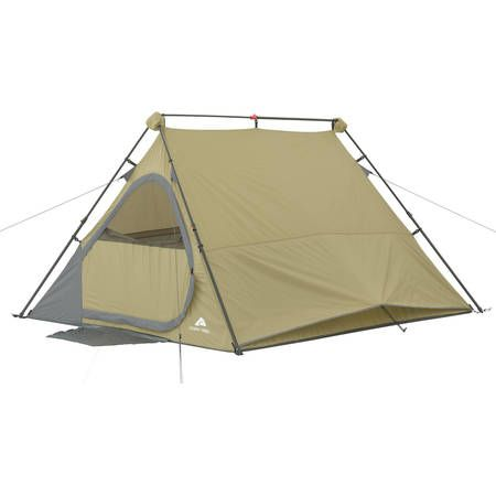 Ozark Trail 8 X 7 Four Person A Frame Instant Tent Walmart Com Instant Tent Tent Ozark Trail