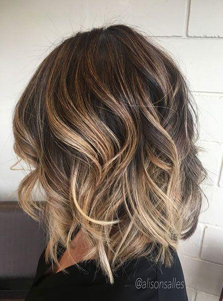 Frisuren 2020 Hochzeitsfrisuren Nageldesign 2020 Kurze Frisuren Short Hair Balayage Hair Color Auburn Balayage Brunette