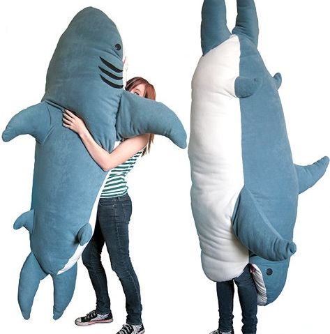 Shark pillow you can get inside! @Jessica Thomas. I think you need ...