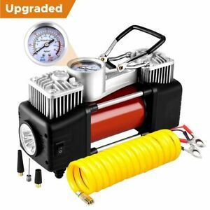 Car Portable Electric Air Compressor Tire Inflator Pump Heavy Duty 150PSI 12V CP