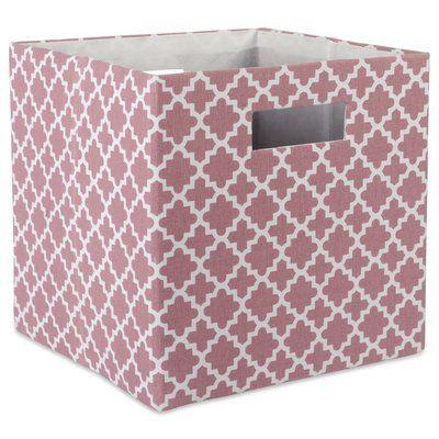 Polka Dots Kd Toy Storage Bin Pink Pillowfort Fabric Storage Bins Pink Storage Bins Cube Storage Bins