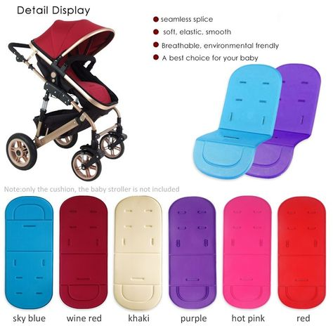 Universal Stroller Pram Pushchair Car Seat Liner Cushion Pad Mat for Baby Kids