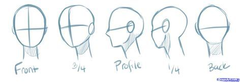 Drawing Tutorial Anime Head 36 Best Ideas Anime Head Manga Drawing Manga Drawing Tutorials