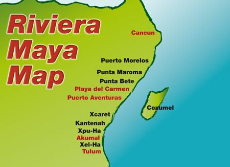 Riviera Maya allinclusives The Maya Riviera is sprinkled with