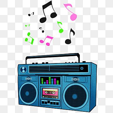 Boombox Com Notas Musicais Multicoloridas Musica Rock And Roll Caixa De Som Imagem Png E Psd Para Download Gratuito In 2021 Music Clipart Retro Music Boombox