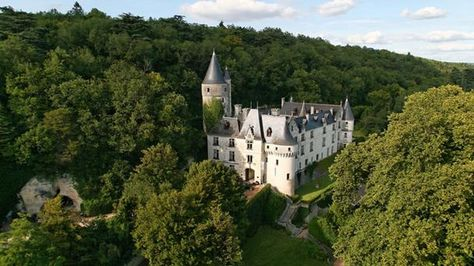 Chateau Chissay, France---stay in a castle!