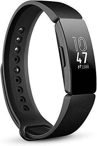 Smartwatch Bracelet//Fitness Bracelet Noir Pour Fitbit Alta HR