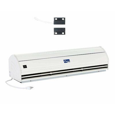 Awoco Elegant 36 Unheated Indoor Air Curtain With Magnetic Switch Wall Mounted Fan Door Switch Wall Mount Easy Install