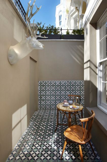 Eclectic Patio by WHAT_architecture