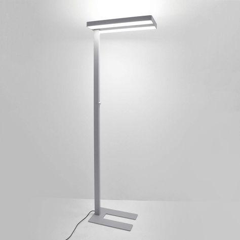 Stehleuchten Deckenfluter Von Arcchio Grau Stehlampe Lampen