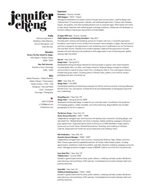 graphic designer´s cv Stylish CVs \ Resumés Pinterest - deli attendant sample resume