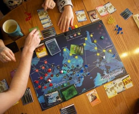 Pandemic: A fun game to play as a couple, plus 20 other 2-player board games!