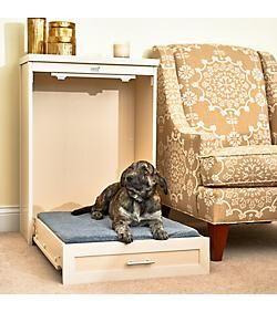 New Age Pet Ecoflex Antique White Murphy Dog Bed Unique Dog Beds