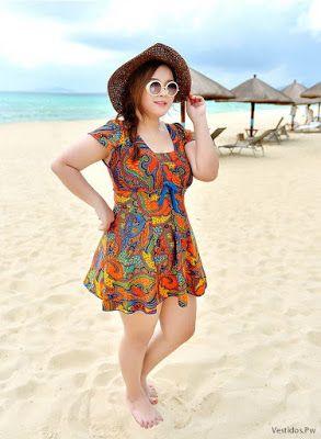 especial para zapato compra original nuevo diseño Vestidos de playa para gorditas en 2019 | Vestidos de playa ...