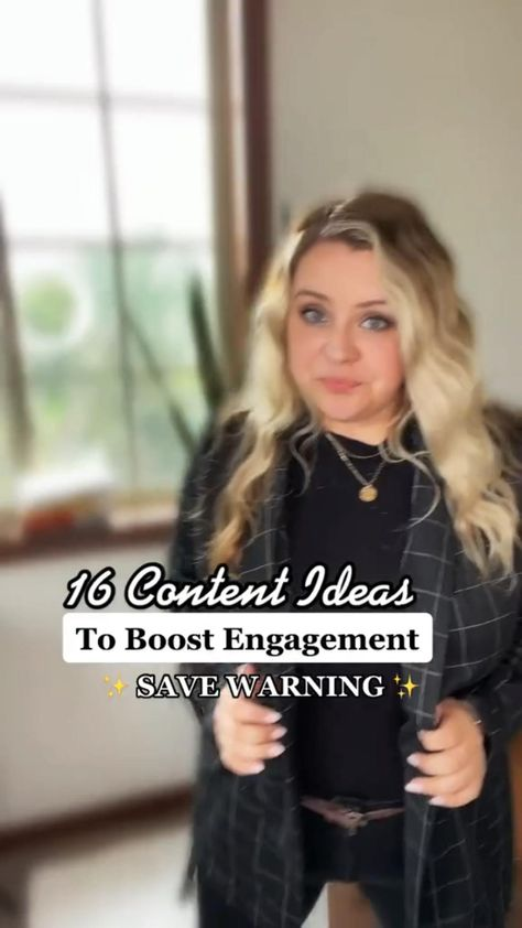 16 Content Ideas to BOOST Engagement