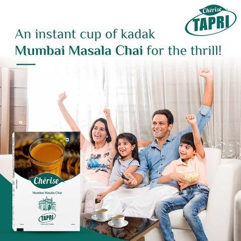 Weekend is here! Whatever you plan, don't forget to add a healthy cup of Mumbai Masala Chai for an added thrill!! #CheriseTapri #TapriLove #weekendFun #WeekendMania #FridayFunday #NetflixAndChill #TakeABreak #Chai #TeaLoversClub #IndianTeaLovers #MumbaiFoodies #Mumbai #MasalaChai
