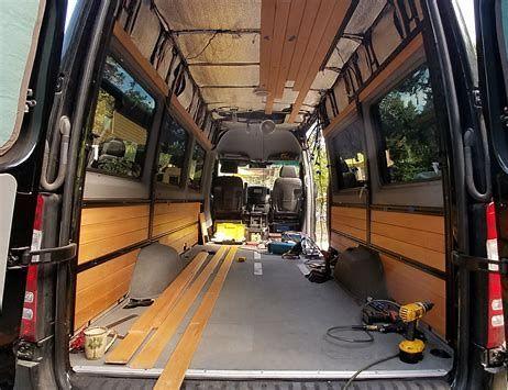 Bildergebnis Fur Wall Panels Interior Sprinter Van Sprinter Van