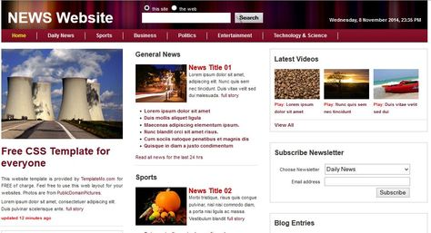 We Have Covered A Collection Of Best Free Html5 Templates Which Are