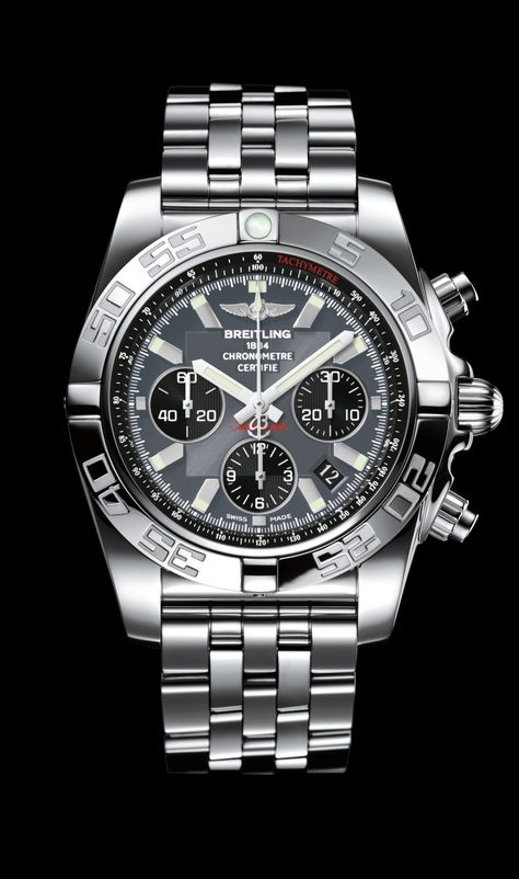 Chronomat 44 Black Eye Grey- Breitling - Instruments for Professionals/ Old Northeast Jewelers is your Authorized Dealer for Breitling Fine Timepieces. 727-898-4377 or 813-875-3935 Sales@oldnortheas... to order via email or visit our website at www.oldnortheastjewelers.com