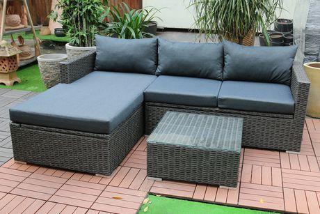 Emmett Deep Seating Sofa Sectional Set