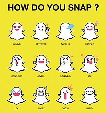 Snapchat. A brilliant app that sends photos for only a designated amount of time