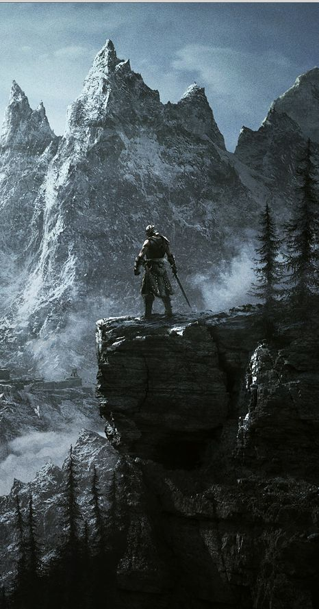 We Know Which Elder Scrolls Race You Are Based On How You Play Skyrim In 2020 Skyrim Wallpaper Skyrim