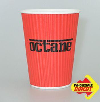 8oz Black Paper Coffee Cups Wholesale, 500ctn