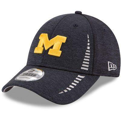 on sale 21e54 5f087 Men s Jordan Brand Navy Michigan Wolverines 2017 AeroBill Sideline Swoosh Coaches  Performance Flex Hat   Michigan Gear   Michigan wolverines, Wolverines, ...