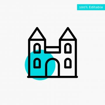 Big Cathedral Church Cross Turquoise Highlight Circle Point V Highlight Icons Circle Icons Point Icons Png And Vector With Transparent Background For Free Do Cathedral Cathedral Church City Vector