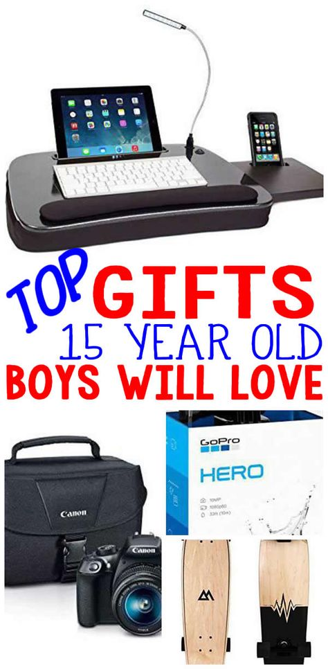 BEST Gifts 15 Year Old Boys Top Gift Ideas That Yr Will