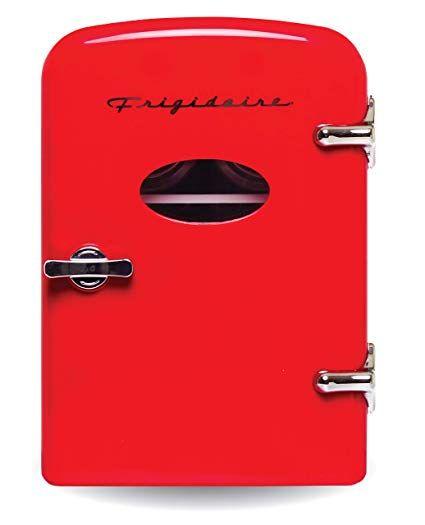 Amazon Com Frigidaire Retro Mini Compact Beverage Refrigerator