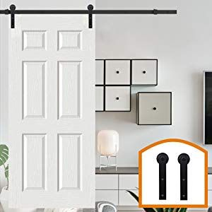 Homedeco Hardware 6 6 Ft 2 00メートル 室内ドア 引き戸 建具