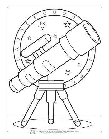 Pin De Tatiana Duque En For Editing Telescopio Dibujo Libro De Fieltro Libros Para Colorear