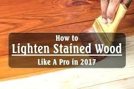 3 Simple Ways To Lighten Dark Wood Stain Wikihow Staining Wood Dark Wood Stain Diy Wood Stain