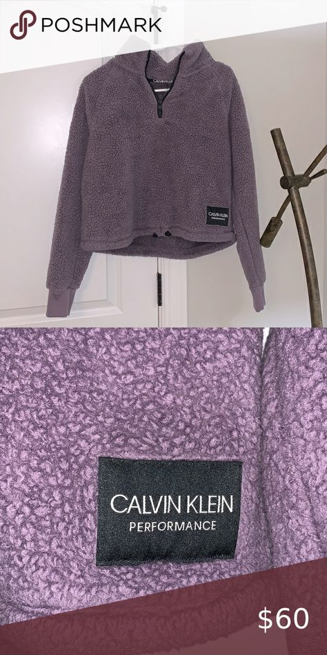 Check out this listing I just found on Poshmark: Calvin Klein Performance Sherpa/Teddy Pullover Size Medium. #shopmycloset #poshmark #shopping #style #pinitforlater #Calvin Klein #Jackets & Blazers