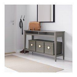 Ikea Liatorp White Glass Console Table Console Table Hallway Glass Console Table Narrow Hallway Table