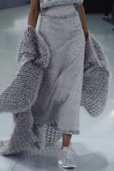 View all the detailed photos of the Chanel haute couture spring 2014 showing at Paris fashion week. Read the article to see the full gallery.