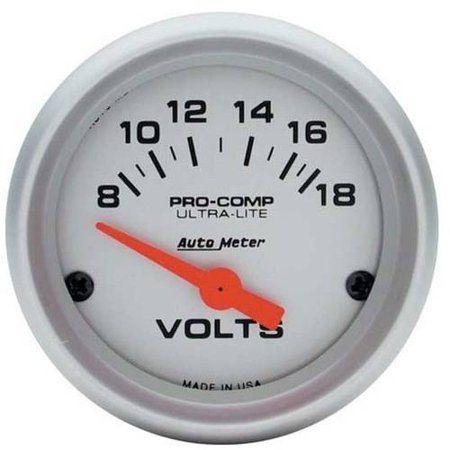 Electrical Autometer 5447 Pro-Comp Oil Temp Gauge 2-5//8 in.