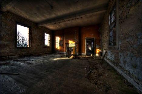 Hospital Hellingly, en el Sussex Este, Inglaterra, clinica psiquiátrica de 1903, cerrada en 1994 y abandonada