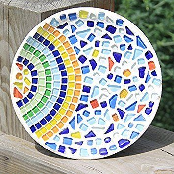 Amazon Com Peicees Mosaics Classico Glass Mosaic Tiles Color