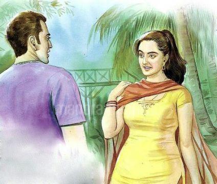 Sexy indian cartoon