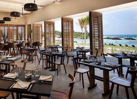 Nizuc Resort Spa Mi Restaurante Decoración De